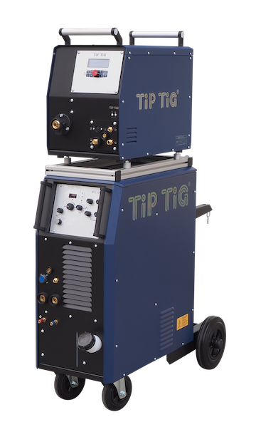TIP TIG Wire Feeder with TIG Welding Machine