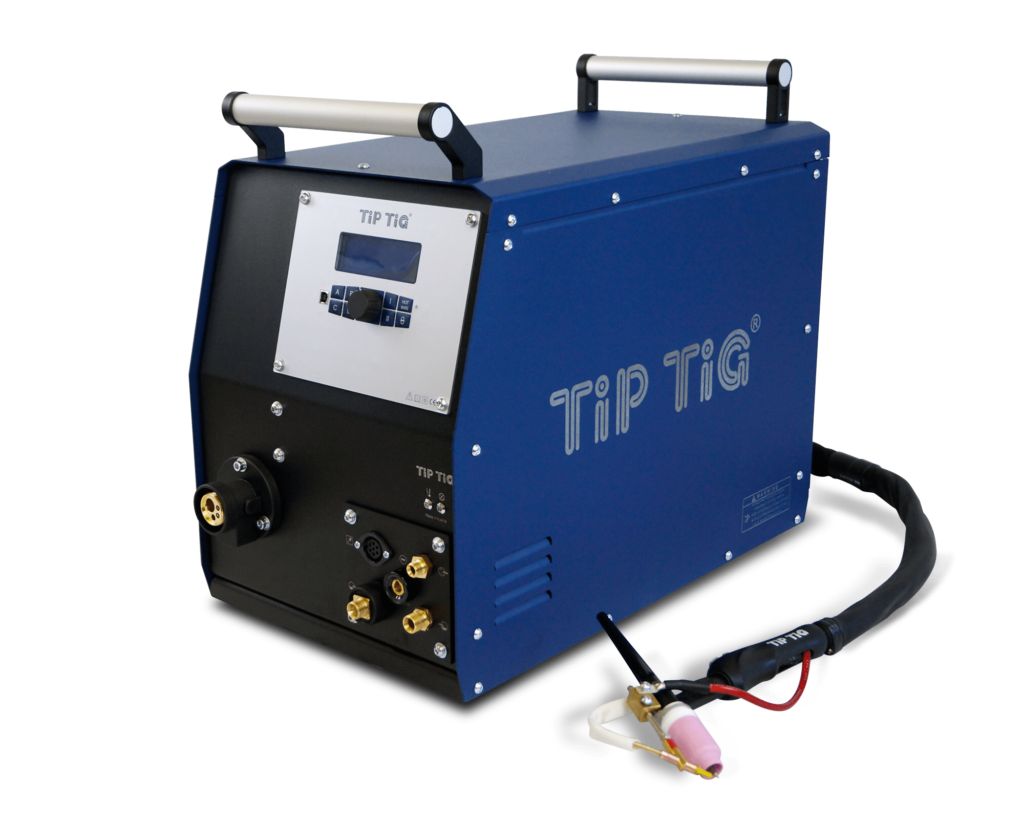 TIP TIG wire feeder with welding torch, tigspeed