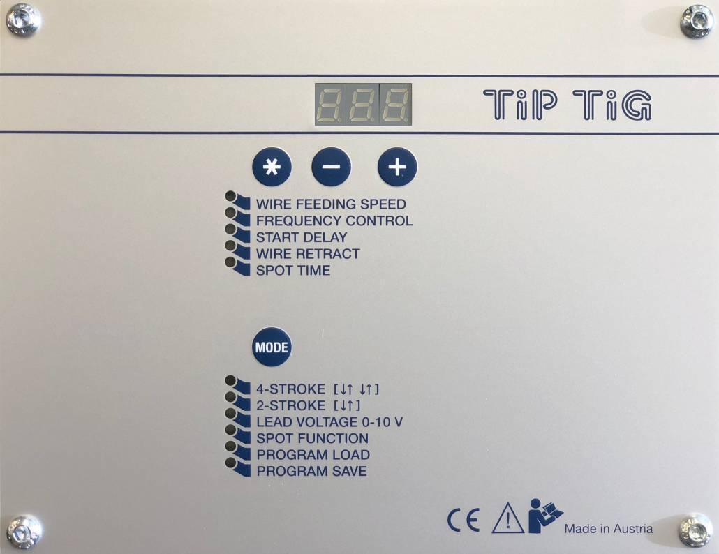 Old TIP TIG PCB