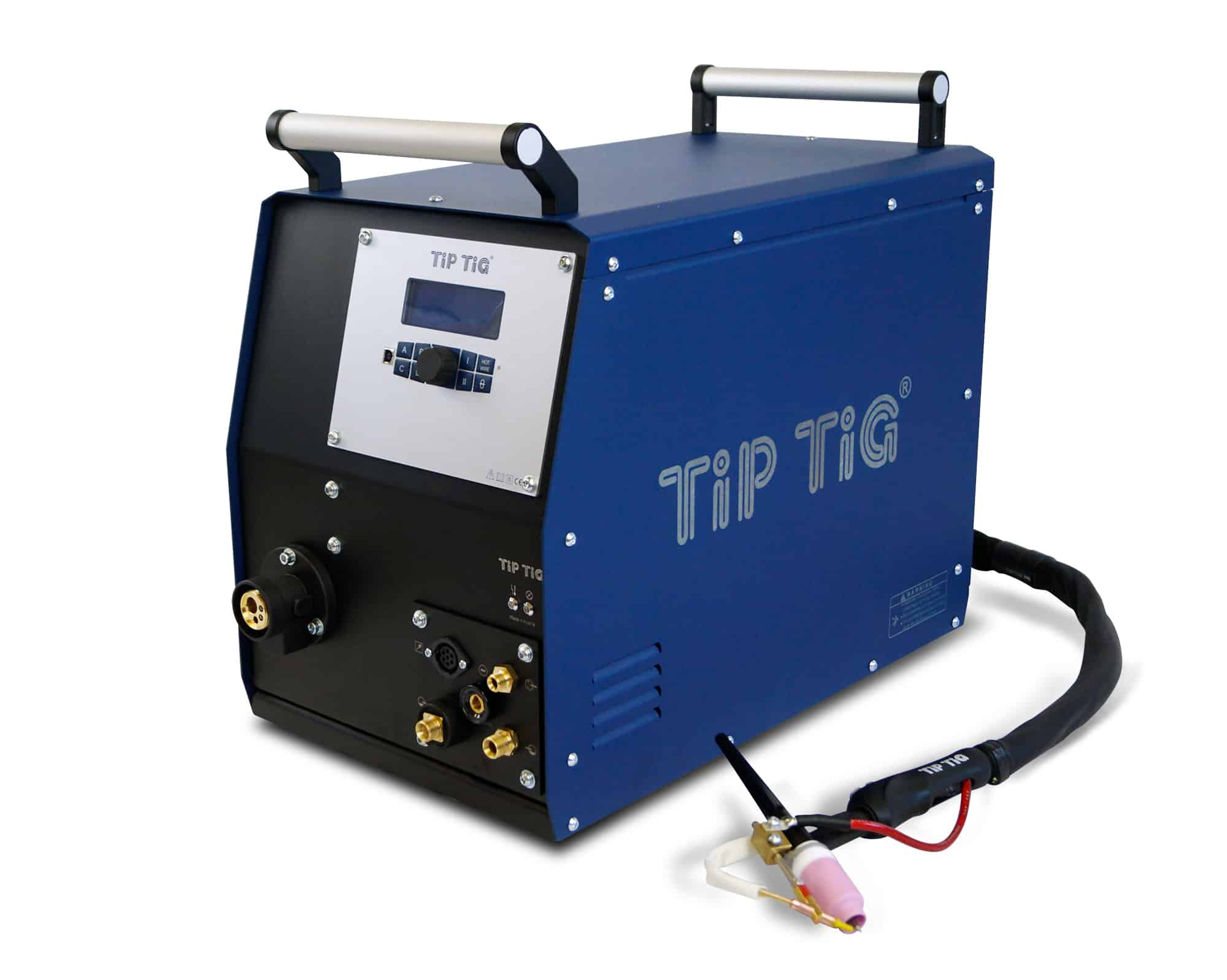 TIG wire feeder with TIG welding torch